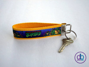 New Teenage Mutant Ninja Turtles Inspired Keyring