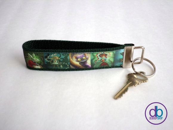 Alice In Wonderland Inspired Keyring
