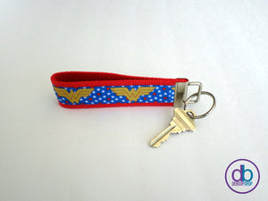 Wonder Woman Inspired Keychain