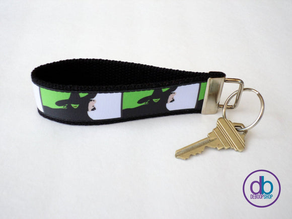 Wicked (Musical) Inspired Keychain