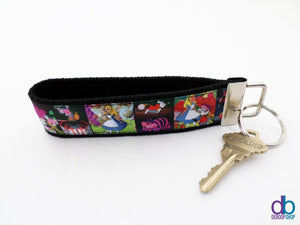 Alice In Wonderland Key Fob