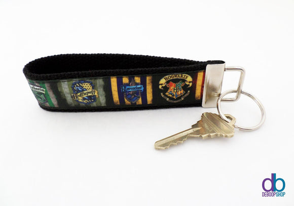 Hogwarts School Key Fob
