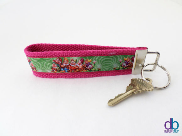 The Seven Dwarfs Inspired Key Fob