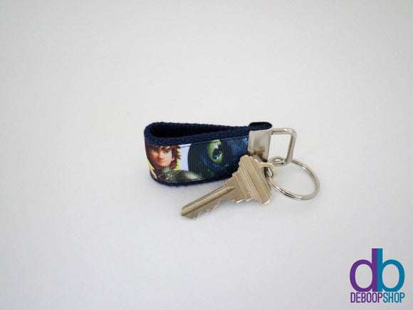 How to Train Your Dragon 2 Inspired Mini Key Fob