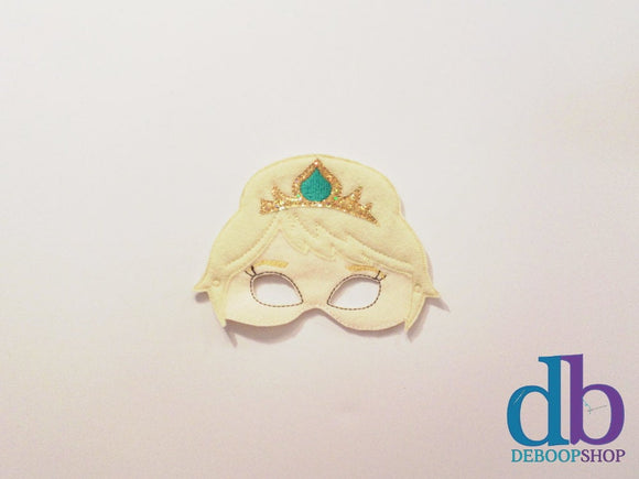 Ice Queen Felt Play Mask