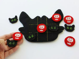 Toothless Tic Tac Toe Board + Pieces