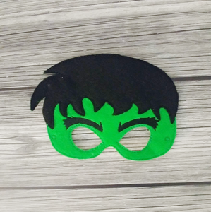 Hulk Super Hero Felt Play Mask
