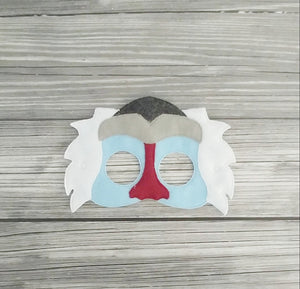 Rafiki Mask - Lion King/Lion Guard Mask - Baboon Mask- Kid & Adult Mask