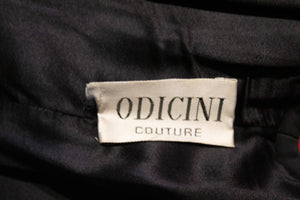 Vintage Adrea Odicini Cocktail Dress with Large Bow