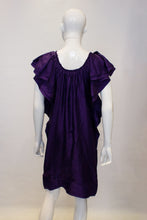 Load image into Gallery viewer, A Lanvin 2008 Purple Silk evening Dress