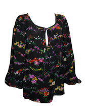 Load image into Gallery viewer, Vintage Yves Saint Laurent Rive Gauche Floral Top