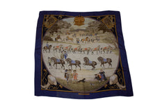 Load image into Gallery viewer, Vintage Hermes Scarf , Presentation de Chevaux