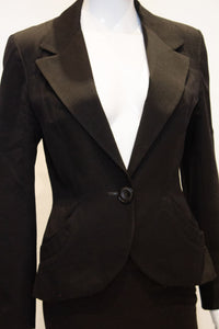 A vintage 1950s black jacket by just gordon