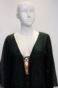A vintage Amanda Wakeley London Kaftan