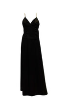 Load image into Gallery viewer, A vintage 1970s black Chic Evening Skirt and Top
