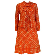 Load image into Gallery viewer, 1960s Pierre Balmain Orange Dress and Jacket