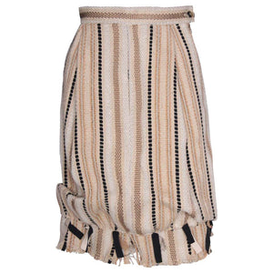 A vintage 1990s Yves Saint Laurent Rive Gauche Bubble Skirt