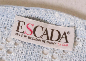 Vintage Escada Linen Mix Jumper