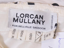 Load image into Gallery viewer, Vintage Lorcan Mullany Spot Silk Gown