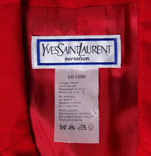 Load image into Gallery viewer, Vintage Yves Saint Laurent Red Jacket