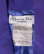 Load image into Gallery viewer, Christian Dior Vintage Numbered Silk Suit