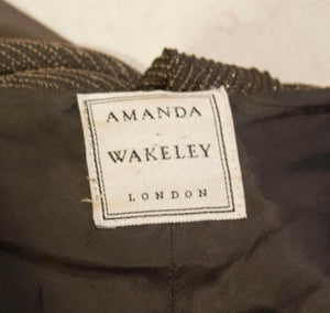 Vintage Amanda Wakeley Evening Gown