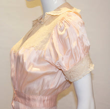 Load image into Gallery viewer, A Vintage 1940s Pink Silk Satin Lingerie Jumpsuit