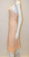 Load image into Gallery viewer, A Vintage 1940s Silk peach Slip Dress