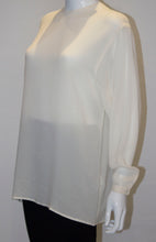 Load image into Gallery viewer, A Vintage 1980s Giorgio Armani Ivory Top