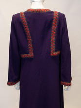 Load image into Gallery viewer, A Vintage 1980s Donald Campbell Wool Crepe Dress
