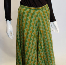 Load image into Gallery viewer, A Vintage 1970s autumnal Fabindia Cotton Skirt