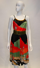Load image into Gallery viewer, A Vintage 1970s Leonard Paris Jersey printed Dress