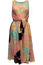 Load image into Gallery viewer, A Vintage 1970s Multi Colour Dress by Weil Paris