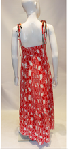 Load image into Gallery viewer, A Vintage 1970s Veronica at Rembrant Red and White Dress