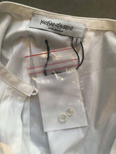 Load image into Gallery viewer, A White Cotton Shirt by Yves Saint Laurent Rive Gauche