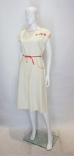 Load image into Gallery viewer, A Vintage 1950s  'Clever' Novelty day Dress