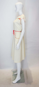 A Vintage 1950s  'Clever' Novelty day Dress