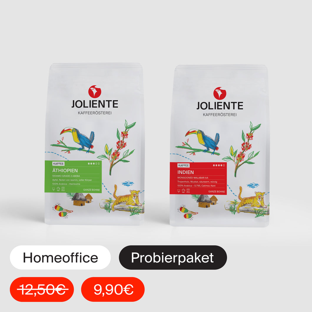 HOMEOFFICE-PROBIERPAKET KAFFEE