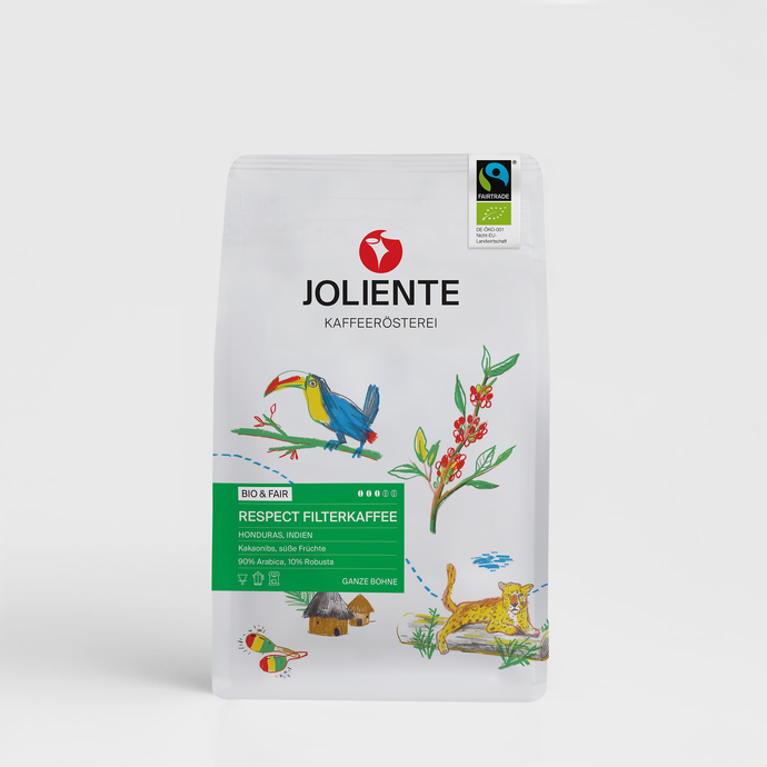 BIO Fairtrade | Respect Filterkaffee | Kaffee