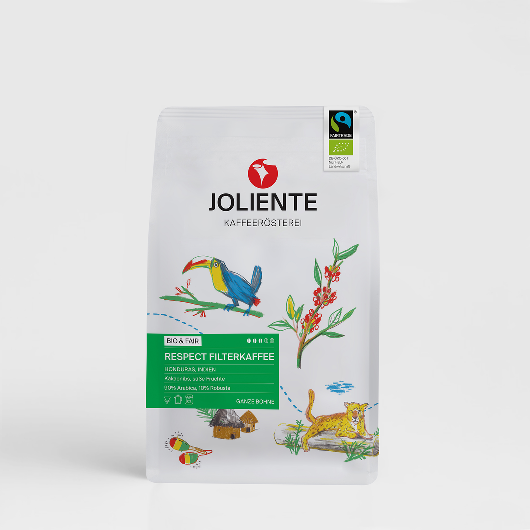 BIO Fairtrade | Respect Filterkaffee