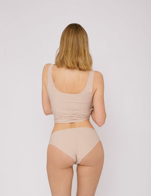 "Invisible Cheeky Briefs 2 - pack ""Rose Nude"""