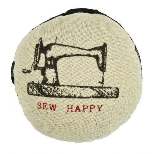 "Nålepude ""Sew happy"""