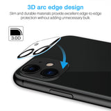 EGV [2 Pack] Screen Protector + [2 Pack] Camera Lens Protector for iPhone 11(6.1'')