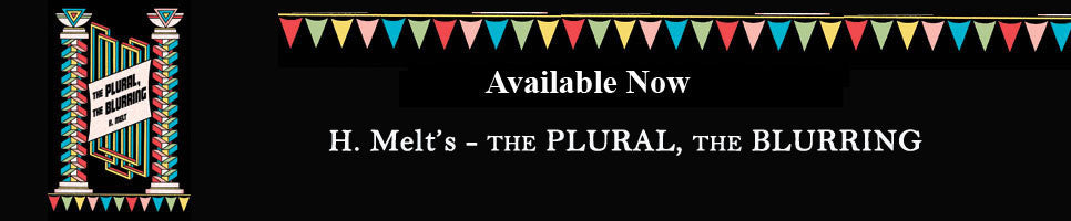 New Release the Plural, the Blurring