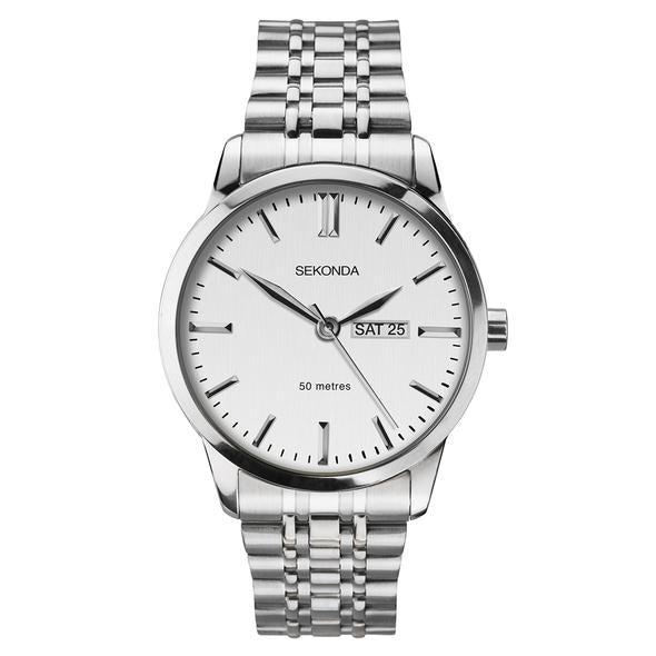 Sekonda Men's Classic Stainless Steel Watch