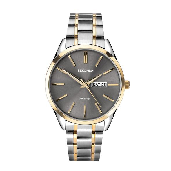 Sekonda Men's Classic Two Tone Watch