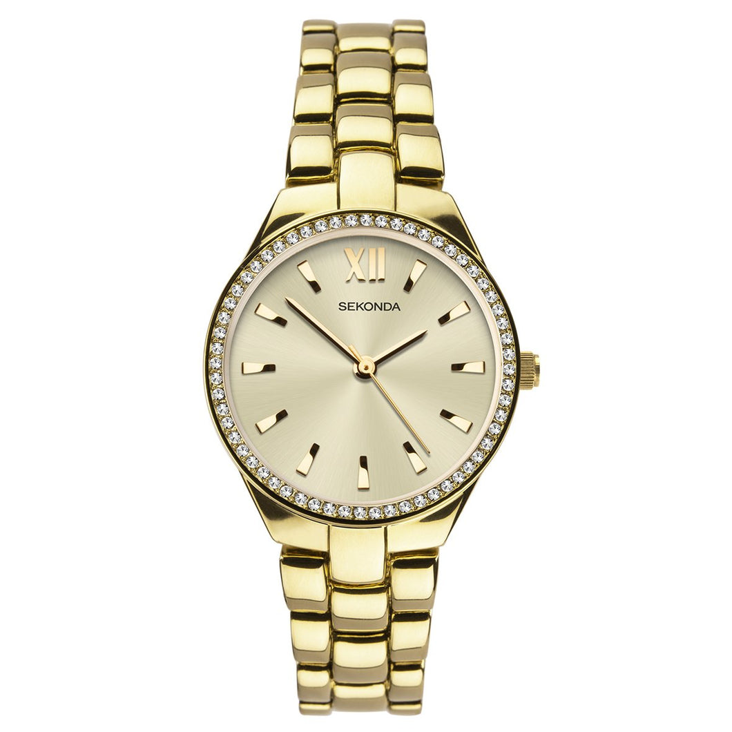 Sekonda Gold Plated Bracelet Watch