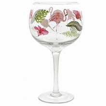 Load image into Gallery viewer, Ginology Flamingo Gin Copa Glass