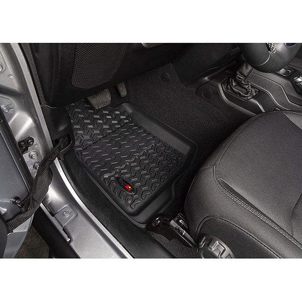 Rugged Ridge All-Terrain Floor Mat Set Wrangler JL