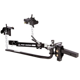 Husky Round Bar Weight Distribution Hitch with Sway Control